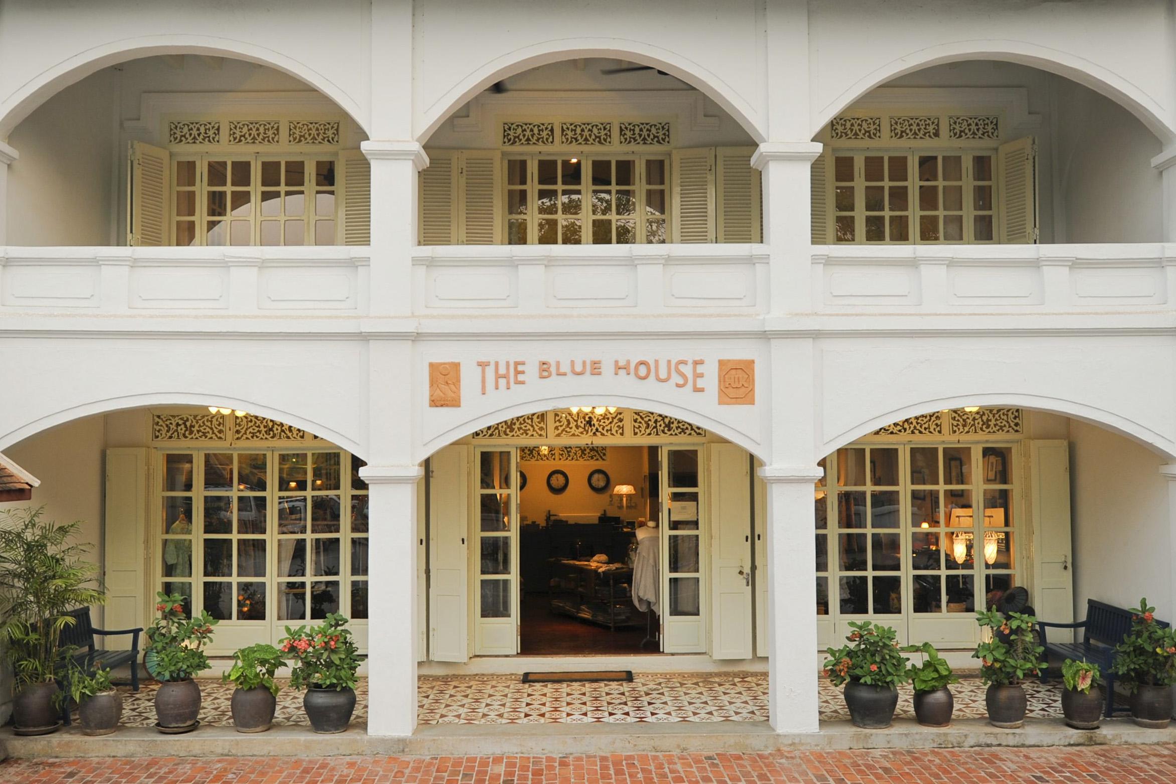 The Blue House Anakha Luang Prabang